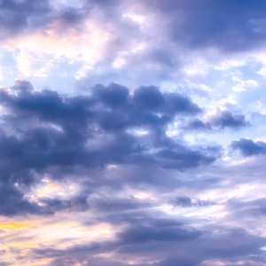 lavendar clouds